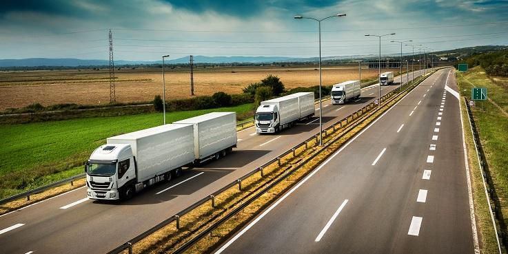 dimensionamento de frota de caminhões