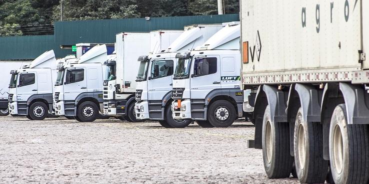 manutenção de frota de caminhão